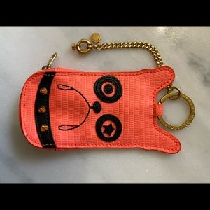 Authentic Marc Jacobs Pouch Keychain Dog Lovers